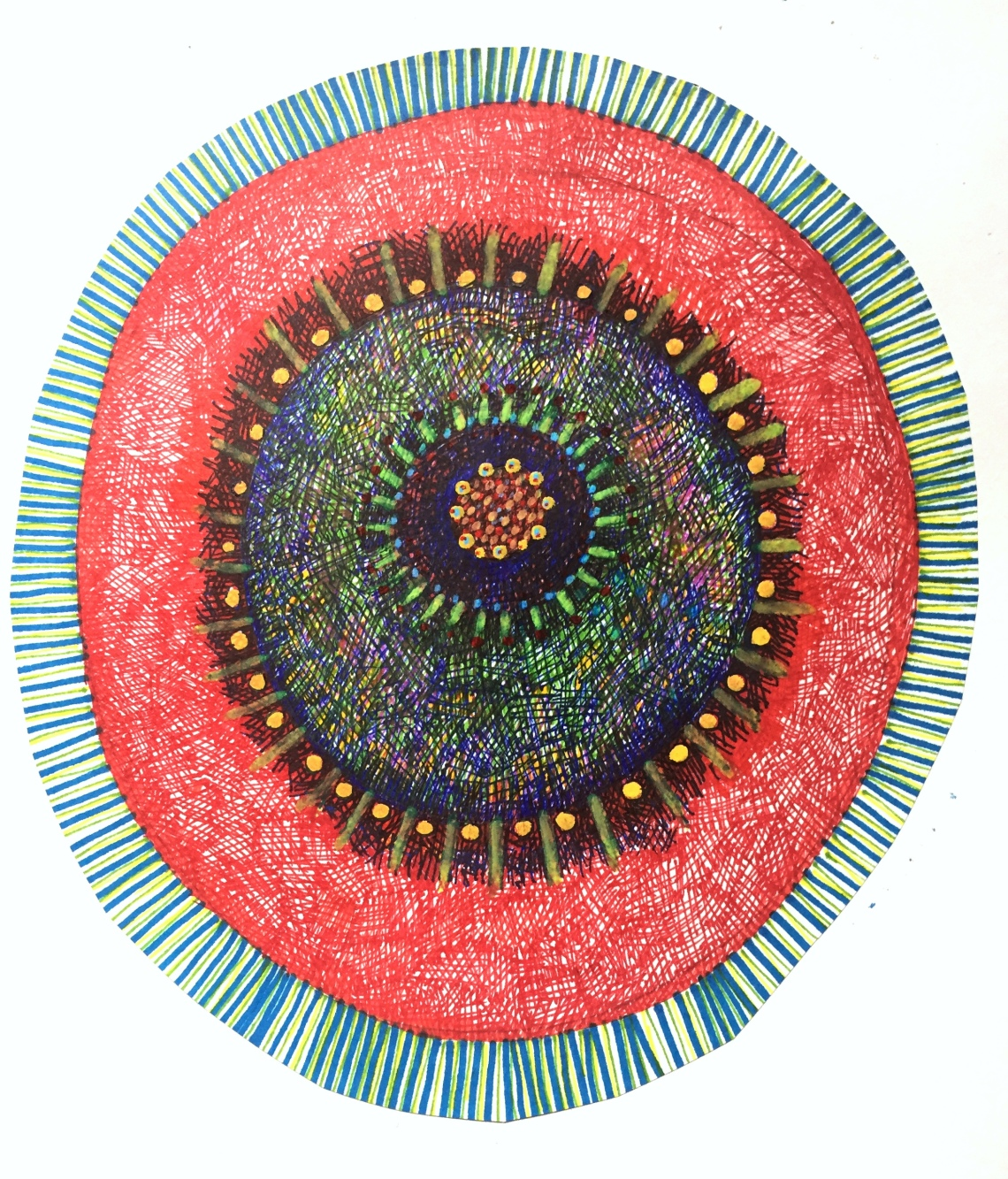 Journal Mandala Again